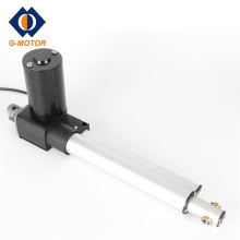 Motorized linear actuator for office chair